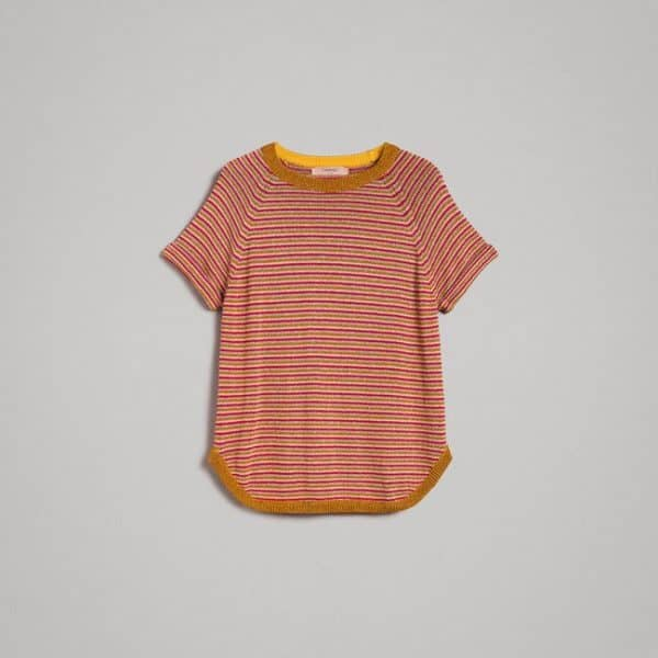 Lurex striped jumper