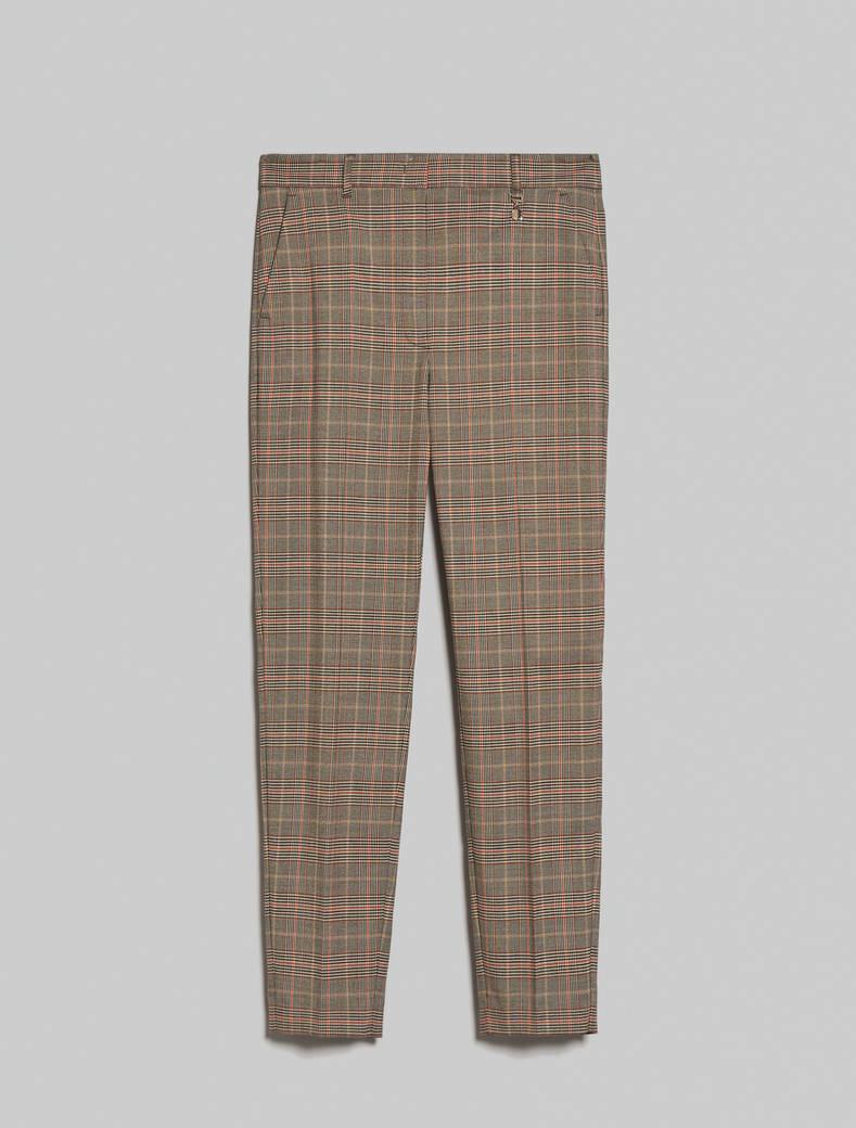 מכנס בסגנון סקוטי גזרה צרה- משבצות