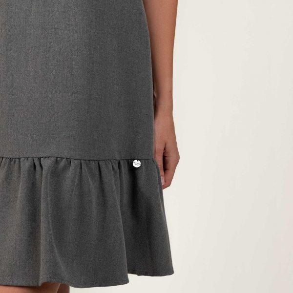 שמלה אפורה