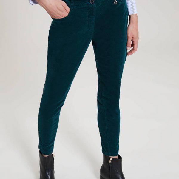 מכנסי קטיפה ירוקים