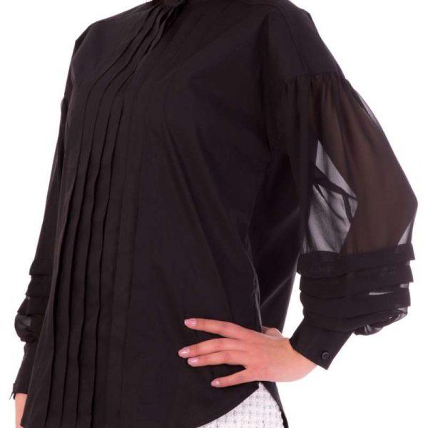חולצת פופלין אלגנטית